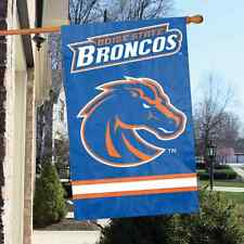 "Boise State Broncos 44"" x  28"" Applique and Embroidered 2-Sided Flag"