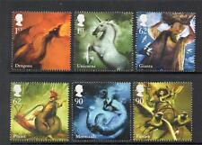 GB MNH 2009 SG2944-2949 MYTHICAL CREATURES SET OF 6