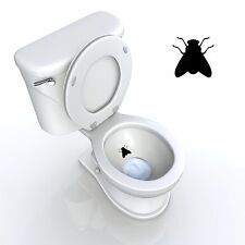 TOILET SEAT DECAL AIM FOR THE FLY TARGET BATHROOM DECAL DECOR FUNNY