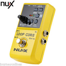 NUX Loop Core Guitar Effect True Pedal Bypass Design with Aluminum Alloy Housing