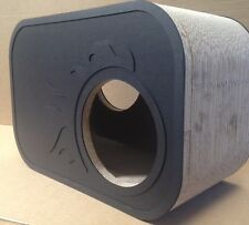 Premium Cardboard Hide Home Scratch Furniture Pole Kitten Black Finish Cat