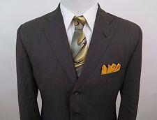 Polo Ralph Lauren 100% Wool Brown Blazer Jacket Sport Coat 40S EUC Made in Italy