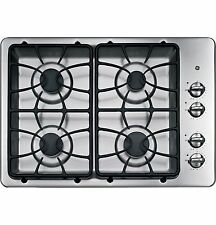 "NEW!! GE JGP329SET Stainless Steel 30"" Gas Gas Cooktop"