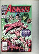 Avengers #306-1989 fn+ John Byrne Paul Ryan Lava Men