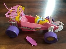 Vintage 1986 Mattel Arco Barbie California Dream Dune Buggy Friction Car! WORKS