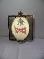 Vintage Large Wall Hanging Budweiser Lighted Sign