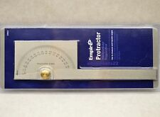 NEW STAINLESS STEEL PROTRACTOR ANGLE FIND SCRIBE TRANSFER LAYOUT MARK GAUGE TOOL