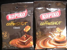 2 PACKS x 27g KOPIKO REAL COFFEE & CAPPUCCINO CANDY SWEETS STRONG HARD CANDY