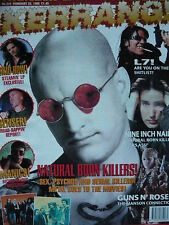 KERRANG 534 - SKID ROW/QUEENSRYCHE/BRUCE DICKINSON (IRON MAIDEN)/SENSER