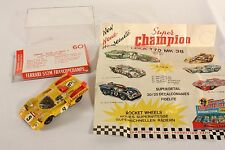 Safir 60, Ferrari 512 M Francorchamps, Made in France, rare, Mint in Box  #ab811