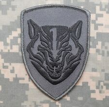 MEDAL OF HONOR TIER1 NAVY WOLFPACK AOR1 MBSS TACTICAL WOLF ACU DARK HOOK PATCH