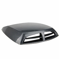 Universal Car decorative Black Cell Air Flow Intake Hood Scoop Bonnet Vent Cover
