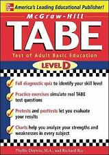 McGraw-Hill's TABE Level D: Test of Adult Basic Education: The First Step to Lif
