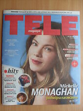 MICHELLE MONAGHAN on front cover TELE MAGAZYN 24/2016
