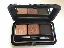Borghese Satin Shadow Milano Duo with Cake Eyeliner in Bellezza Brown  01-Boxed
