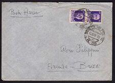 POSTA MILITARE 1941 Lettera da PM 68 per Brozzi (FM0)