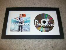 CODY SIMPSON SIGNED FRAMED & MATTED PARADISE CD DISPLAY w/EXACT PROOF AUTOGRAPH