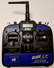 REALLY NICE EFLITE E-FLITE BLADE SR 6 SIX CH CHANNEL RC TRANSMITTER RADIO!!!