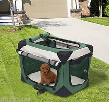 """Large 32"""" Pet Carrier Dog Bed Kennel Portable Travel Pet Cat House Home"""