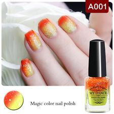 6ml Color Changing Thermal Nail Polish Sequin Peel Off Nail Varnish  A001