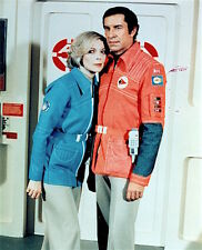 1975's SPACE: 1999 Martin Landau/Barbara Bain season 2 color 8x10 costume prt