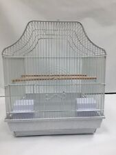 "New Superpet Bird Cage White small birds Parakeet Finches Canary 15.5x15.5x18""H"