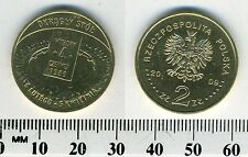 Poland 2009 - 2 Zlote Collectible Brass Coin - General Elections of 1989
