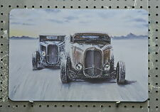 hot rod art, rat rod, garage, 32 Ford roadster salt flats racer, Pinstriping ar