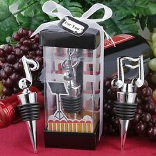 Musical Note Wine Bottle ONE Stopper Music Wedding Favor Reception Gift Party