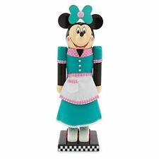 "DISNEY PARKS EXCLUSIVE MINNIE MOUSE RETRO WAITRESS NUTCRACKER FLO'S CAFE 14"" NIB"