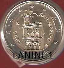 2 EURO BU SAINT MARIN ANNEE 2006