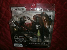 McFARLANE MONSTERS III  SPAWN 6 FACES OF MADNESS COLLECTORS CLUB ACCESSORY PACK