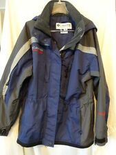 COLUMBIA Challenge Series Outer SHELL Water Repellent SHELL Ladies JACKET Sz  M