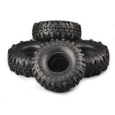 4 X Rubber Foam Tire Tyre For 1/10 Scale R/C Model Rock Crawler Car Truck