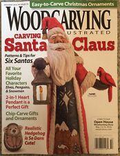Wood Carving Santa Claus Patterns And Tips Holiday 2015 FREE SHIPPING!