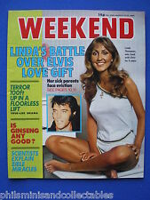 Weekend Magazine - Linda Thompson, Jane Russell      12th Mar 1980