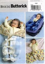 Butterick Fleece Baby Items Pattern B4416 UNCUT