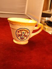 "#2 of 9, NEAT OLD VTG CUP/MUG BY ""THE CRAFT SHOP, INTERCOURSE, Pa"" -- ""WILKUM"""