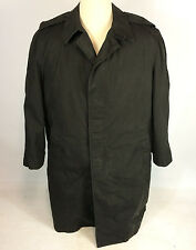 Vtg US Navy Military Parka Coat Jacket Full Length All Weather Deck Trench 42 R