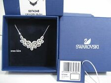 Swarovski Baron Necklace rhodium-plated Clear Crystal Authentic MIB 5074348