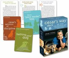 Cesar's Way Deck: 50 Tips for Training and Understanding Your Dog by Millan, Ce