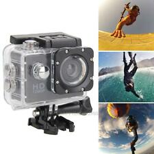 2'' LCD HD 1080P 5MP Waterproof Helmet Action DV Sports Camera Cam Camcorder