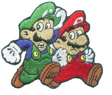 Super Mario Brothers Cartoon Game Appliques Embroidered Iron on Patch