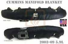 BLACK MANIFOLD BLANKET FOR 2003 2004 2005 2006 2007 2008 2009 DODGE CUMMINS 5.9