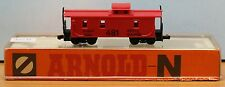 Arnold 5470  Spur N   US Caboose, rot, 4achs.,