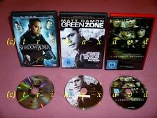 3 DVD's _Greenzone (Matt Damon) & Shadowboxer & A Perfect Getaway (Mi.Jovovich)