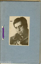 VLADIMIR VYSOTSKY scrap book with interesting materials in Russian 127 pages