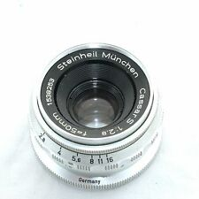 Steinheil Munchen Cassar S 2.8/50mm 2,8/50mm No.1538253 for M42