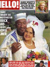 DERRICK EVANS SANDRA PALMER UK Hello Magazine 8/10/96 #419 ALEXANDRA NECHITA