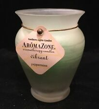 Northern Lights Candles Aroma Zone Single Wick Vibrant Peppermint 35-40hr Brun